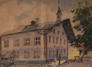 Gasthaus Moser.Gemälde