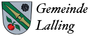 Gemeinde Lalling Logo